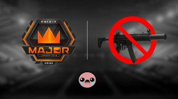 La MP5-SD no estará disponible en el FACEIT Major: London de CS:GO